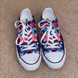 Multi-colored Converse